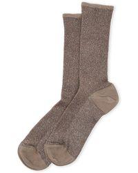Max Mara - Cambusa Lurex Socks - Lyst