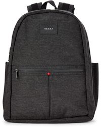 State Charcoal Union Laptop Nylon Backpack - Gray