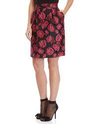 Blugirl Blumarine - Floral Brocade Skirt - Lyst