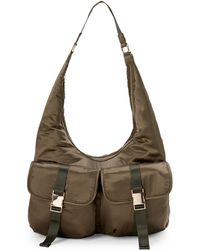 Steve Madden - B-cole Satin Flap Backpack - Lyst