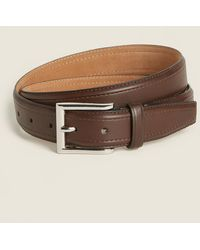COLE HAAN BELT MEN/'S LEATHER DRESS BELT IN CHOCOLATE BROWN NEW W//TAGS