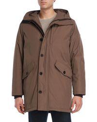 97683259282e Lyst - Men s Michael Kors Parka coats On Sale