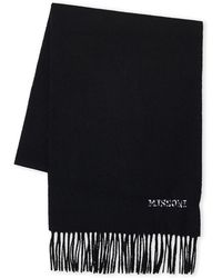 Missoni - Embroidered Logo Wool Scarf - Lyst