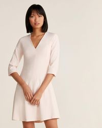 Max & Moi - V-neck Fit & Flare Dress - Lyst
