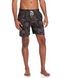 Tailor Vintage - Printed Swim Shorts - Lyst
