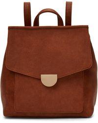 Moda Luxe Tan Lynn Backpack - Brown