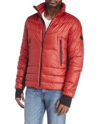 ea9d420adf29 Lyst - Michael Michael Kors Quilted Hooded Vest in Gray for Men
