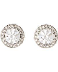 1c82c05b2 Michael Kors Buckle Hoop Earrings in Metallic - Lyst