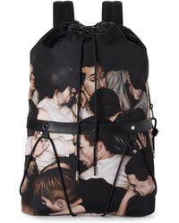 Dior - Mosh Pit Print Backpack - Lyst