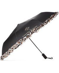 5e07583d31c1 Auto Open Leopard Umbrella