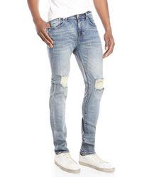 Stampd - Essential Split Knee Jeans - Lyst