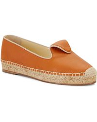 Sarah Flint - Andrea Leather Espadrilles - Lyst