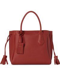Longchamp - Orange Penelope Small Tote - Lyst