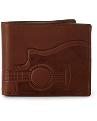 Fossil - Nash Bi-fold Flip Rfid Wallet - Lyst