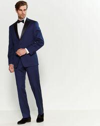 Calvin Klein Two-piece Blue Tuxedo