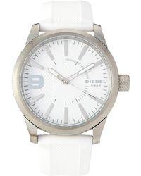 DIESEL - Dz1805 Rasp White Watch - Lyst