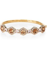 Givenchy - Gold-tone Hinged Cluster Bracelet - Lyst