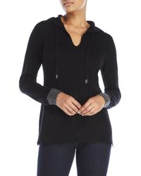 Ply Cashmere - Drawstring Cashmere Hoodie - Lyst
