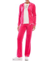 Juicy Couture Black Label Robertson Velour Jacket & Del Ray Velour Pants