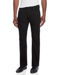 DIESEL - Black Waykee Regular-straight Jeans - Lyst
