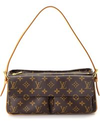 525a55bc76b2 Lyst - Louis Vuitton Shoulder Bag - Vintage in Brown