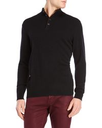 Forte   Cashmere Ribbed Mock Neck Sweater   Lyst