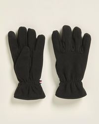 Tommy Hilfiger Black Touchscreen Gloves