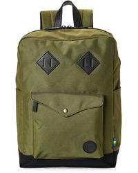 Enter # - Army & Black Sports Backpack - Lyst