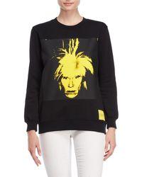 Calvin Klein - Warhol Portrait Pullover Sweatshirt - Lyst