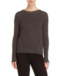 Pink Rose - Braided Side Sweater - Lyst