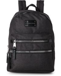 Adrienne Vittadini - Black High-Density Nylon Backpack - Lyst