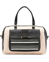 Olivia + Joy - Blush Stripe Victoria Satchel - Lyst