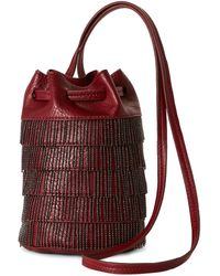 Gracie Roberts - Rouge Gatsby Drawstring Bag - Lyst