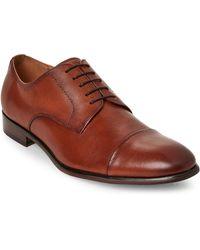 Steve Madden - Tan Preston Textured Dress Shoes - Lyst