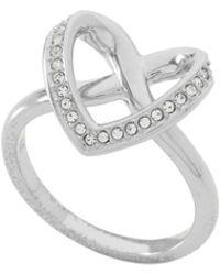 2f5e54bee Swarovski Cupidon Ring in Metallic - Lyst