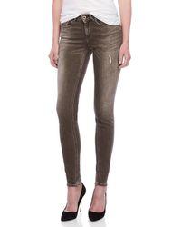 Scotch & Soda - Grey La Bohemienne Skinny Jeans - Lyst