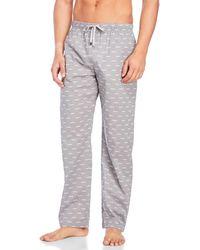 Michael Kors - Woven Logo Lounge Pants - Lyst