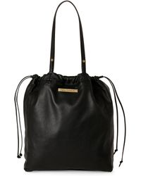 Via Spiga - Mayfly Leather Tote - Lyst