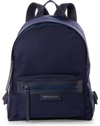 Longchamp - Navy Le Pliage Néo Small Backpack - Lyst