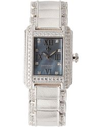 Judith Ripka | 11625 Silver-Tone Watch | Lyst