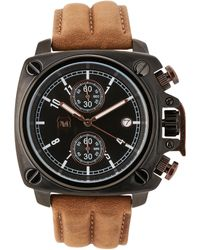 Andrew Marc - A10101Tp Black & Brown Watch - Lyst