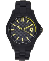Scuderia Ferrari 830156 Black & Yellow Watch