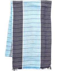 English Laundry - Lightweight Check Scarf - Lyst