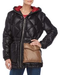 Sonia Rykiel - Quilted Color Block Puffer Jacket - Lyst