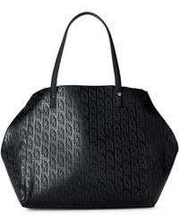 Juicy Couture | Black Logo Convertible Tote | Lyst