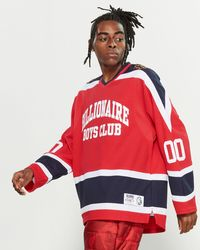 BBCICECREAM Don't Give A Puck Jersey - Red