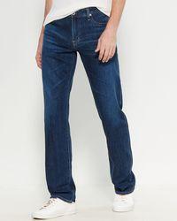 AG Jeans The Protégé Straight Jeans - Blue