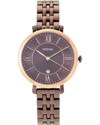 Fossil - Es4275 Two-tone Jacqueline Watch - Lyst