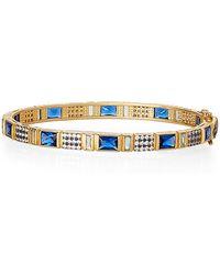 Freida Rothman - Gold-tone Accented Bracelet - Lyst