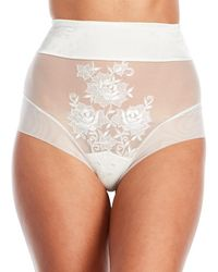Ritratti - Rose High-Waisted Coulotte - Lyst